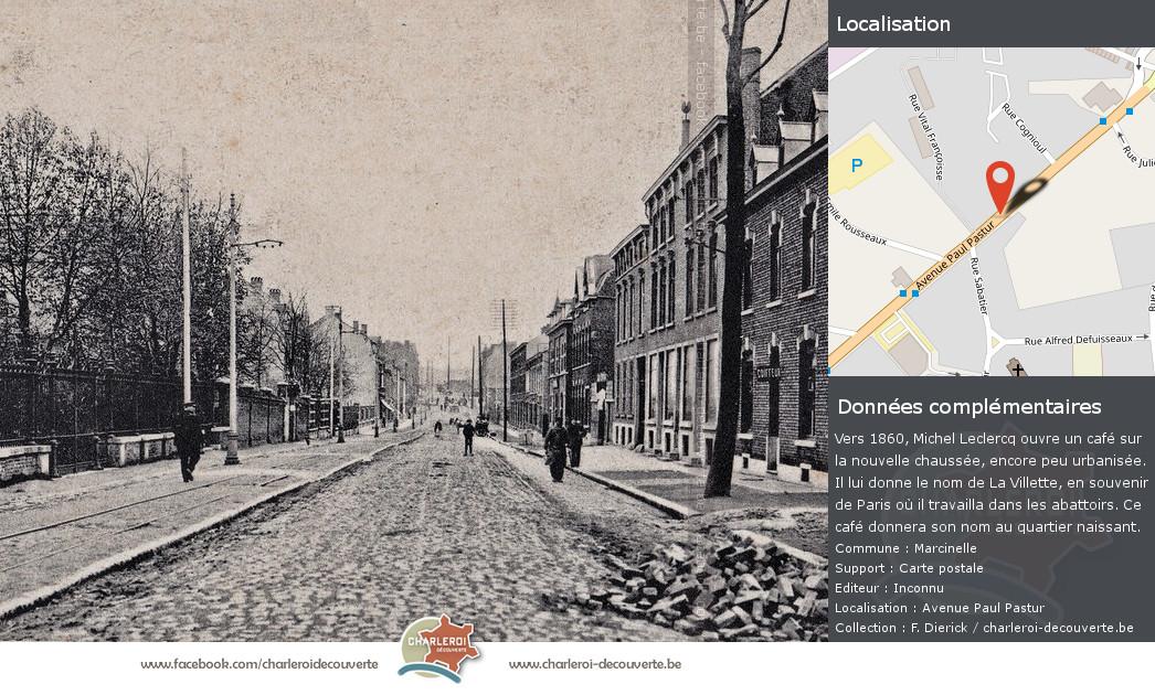 Charleroi Decouverte Be Avenue Paul Pastur Villette