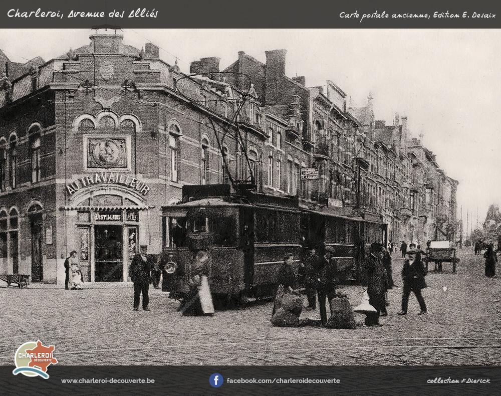 Charleroi Decouverte Be Avenue Des Allies
