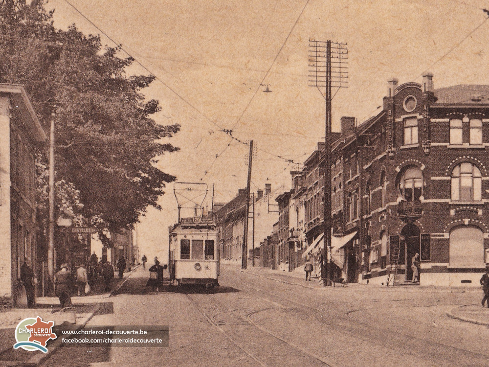 charleroi-decouverte be | Les tramways à Charleroi